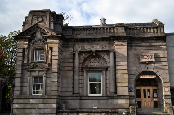 Cronin Dumbarton Library in Strathleven Place