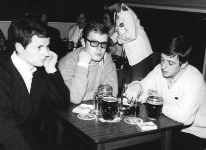 Monaghan Tom and John McIntosh and Andy Mallon at Butlins Ayr 1966 001