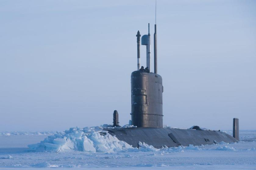Trenchant HMS in the Arctic