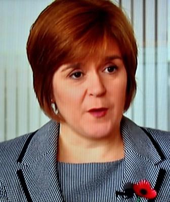 Base - Deputy First Minister Nicola Sturgeon