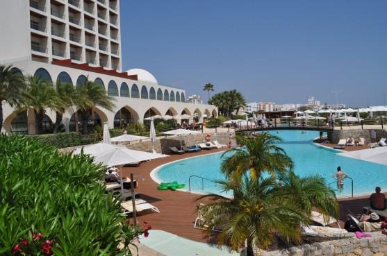 Algarve 8 The Crowne Plaza hotel and resort at Vilamoura in the Algarve