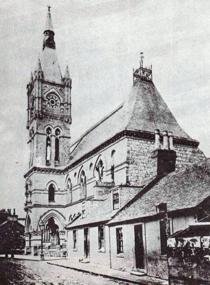 Burgh Hall when it was built 2
