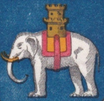 Coat of arms elephant and castle 2
