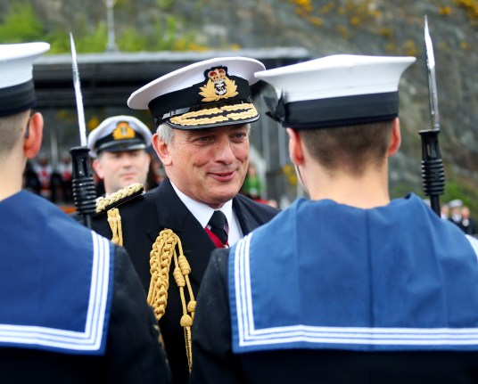 "GOLDEN ANNIVERSARY FOR SCOTLAND'S LARGEST MILITARY SITE MILITARY and civilian personnel at Scotland's largest military base came together today (May 10) to celebrate the 50th anniversary of HMS Neptune, the shore establishment which evolved into HM Naval Base Clyde. Admiral Sir Philip Jones KCB, ADC, the First Sea Lord, reviewed military personnel at the site during ceremonial divisions which featured submariners, sailors and Royal Marines from the Base. ""I'm really pleased to attend this event and to share in the celebrations as we mark an important milestone in the life of HMS Neptune,"" said the First Sea Lord. ""I'd like to thank all those who work at Her Majesty's Naval Base Clyde, whatever their role, for everything they have done and continue to do in support of this vital endeavour to ensure our nation's security."""
