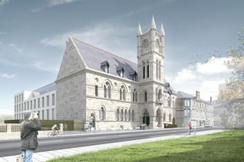 Burgh Hall new artist's impression