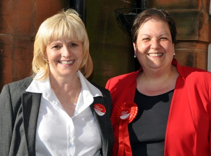 Jean Anne and Jackie Baillie