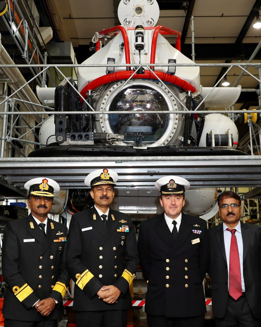 Indian Submarine Rescue team visit to Faslane
