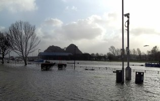 Floods at Dumbarton Quays
