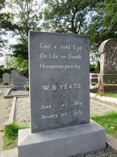 Yeats grave 2