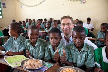 Mary's Meals with Magnus