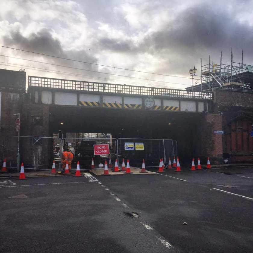 central station bridge clean up