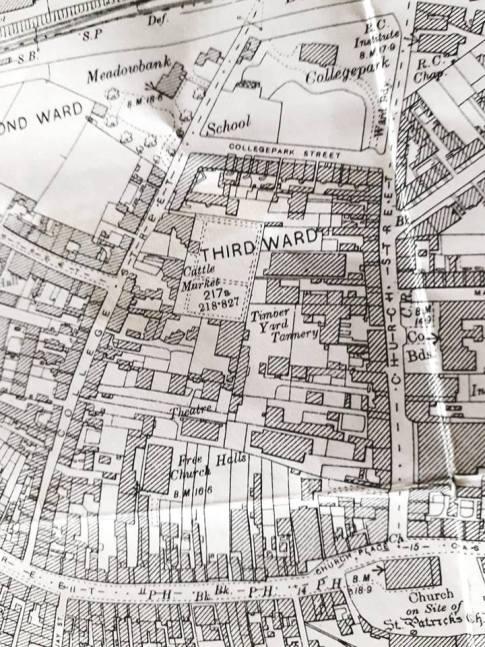 Dumbarton old map