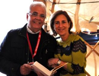 Kirsty Wark and Bill at EBF