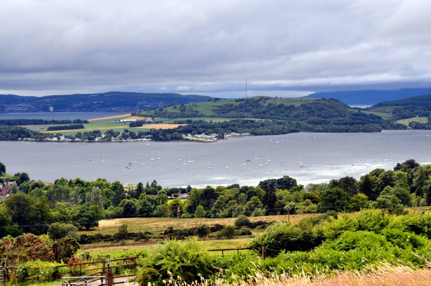 Rosneath Peninsula from Helensburgh