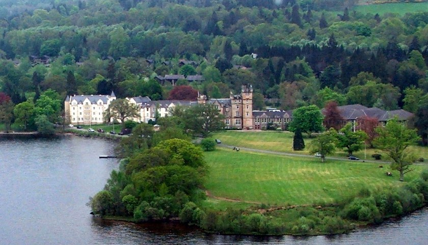 Cameron House Hotel from the air.jpg 2