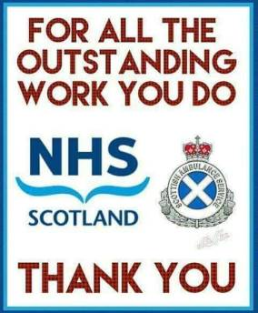 NHS thanks ad