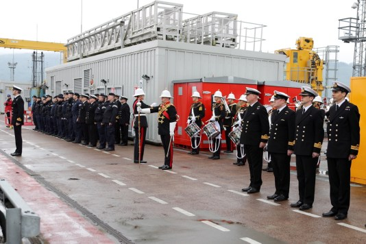 For the first time since the early 1990s, an operational submarine has conducted a base port change from Devonport to Faslane. HMS Talent was welcomed by Rear Admiral Submarines, Rear Admiral Weale OBE, Commander Submarine Flotilla, Cdre J Perks OBE, Commanding Officer HMND Clyde Cdre Doull ADC, Assistant Chief of Staff Submarines Cdre Anstey and Captain of the Base Capt C Mearns RN. This move highlights HMNB Clyde as the home of the Submarine Service and Centre of Specialisation for the service.