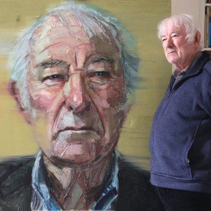 Heaney Seamus portrait by Colin Davidson