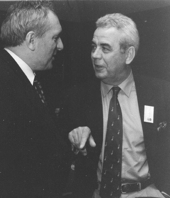 Bill and Bertie Ahern in Ireland