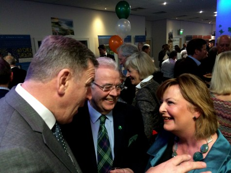 Bill, Packey and Fiona Hyslop
