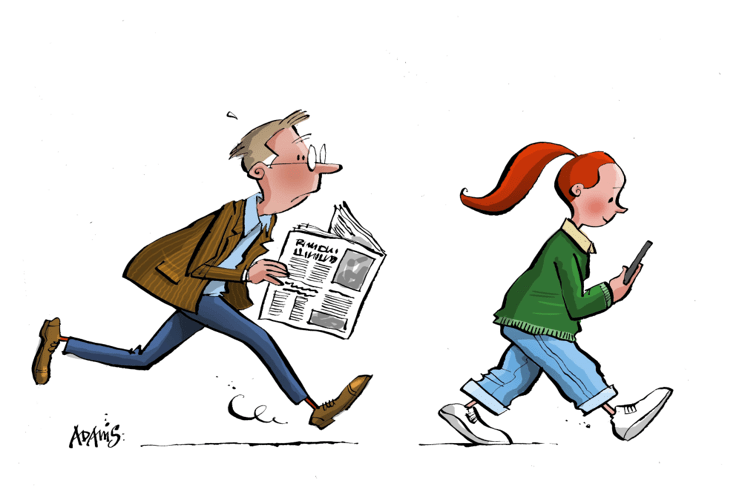 Newspapers and digital