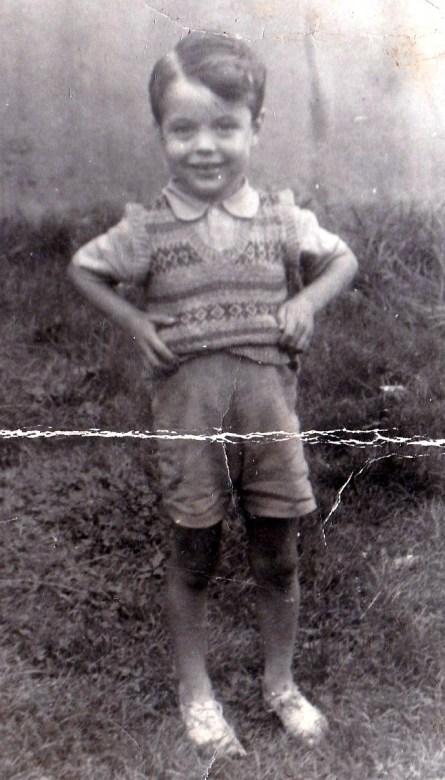 Bill aged 3 in Brucehill