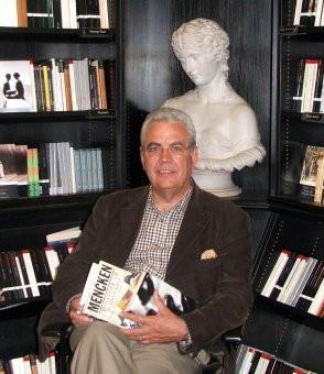 Bill in Hatchard's Bookshop in London