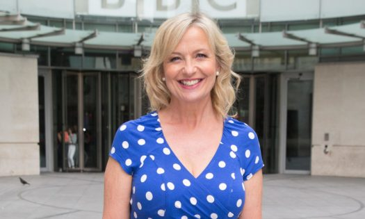 F10731 Carol Kirkwood pictured leaving the BBC Studios Featuring: Carol Kirkwood Where: London, United Kingdom When: 23 Jun 2015