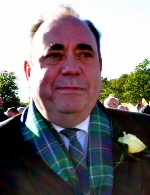 Salmond Alex at Papal mass