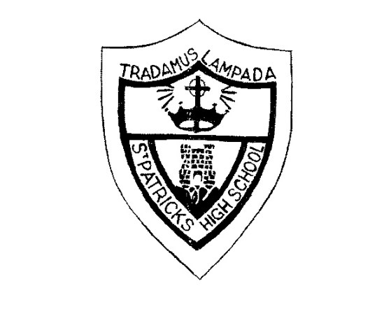 St Patrick High School badge