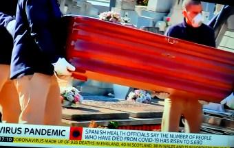 Virus coffins