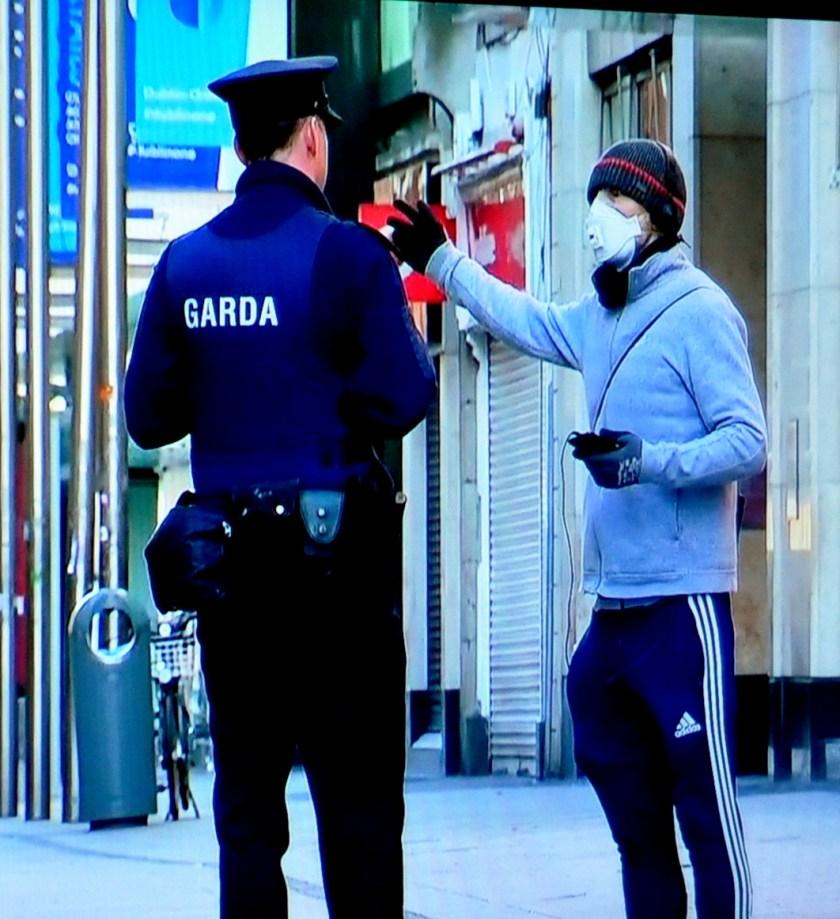Virus ireland 3 jogger and cop