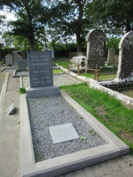 Yeats' grave