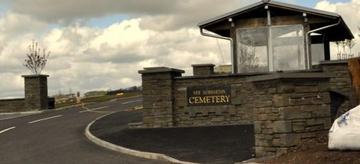 Cemetery gates new