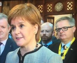 Sturgeon Ducherty Hughes and O'Hara of SNP