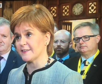 Sturgeon Ducherty Hughes and O'Hara of SNP