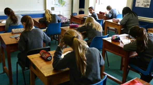 schools class of pupils
