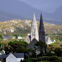 Clifden in the light