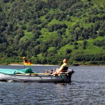 Fair 20 Gone fishing in glorious sunshine on Loch Lomond