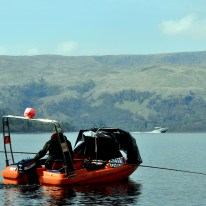 fishing for trout and salmon on Loch Lomond.
