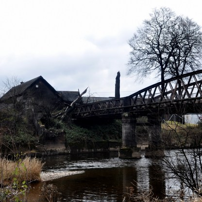 Dirty - the banks of the River Leven could do with a clean-up