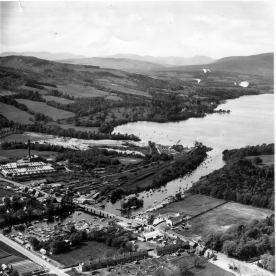 Flamingo Land site in 1961