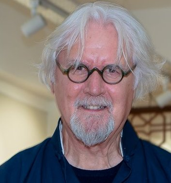 COVID 19: SIR BILLY CONNOLLY RECEIVES THE VACCINE IN FLORIDA