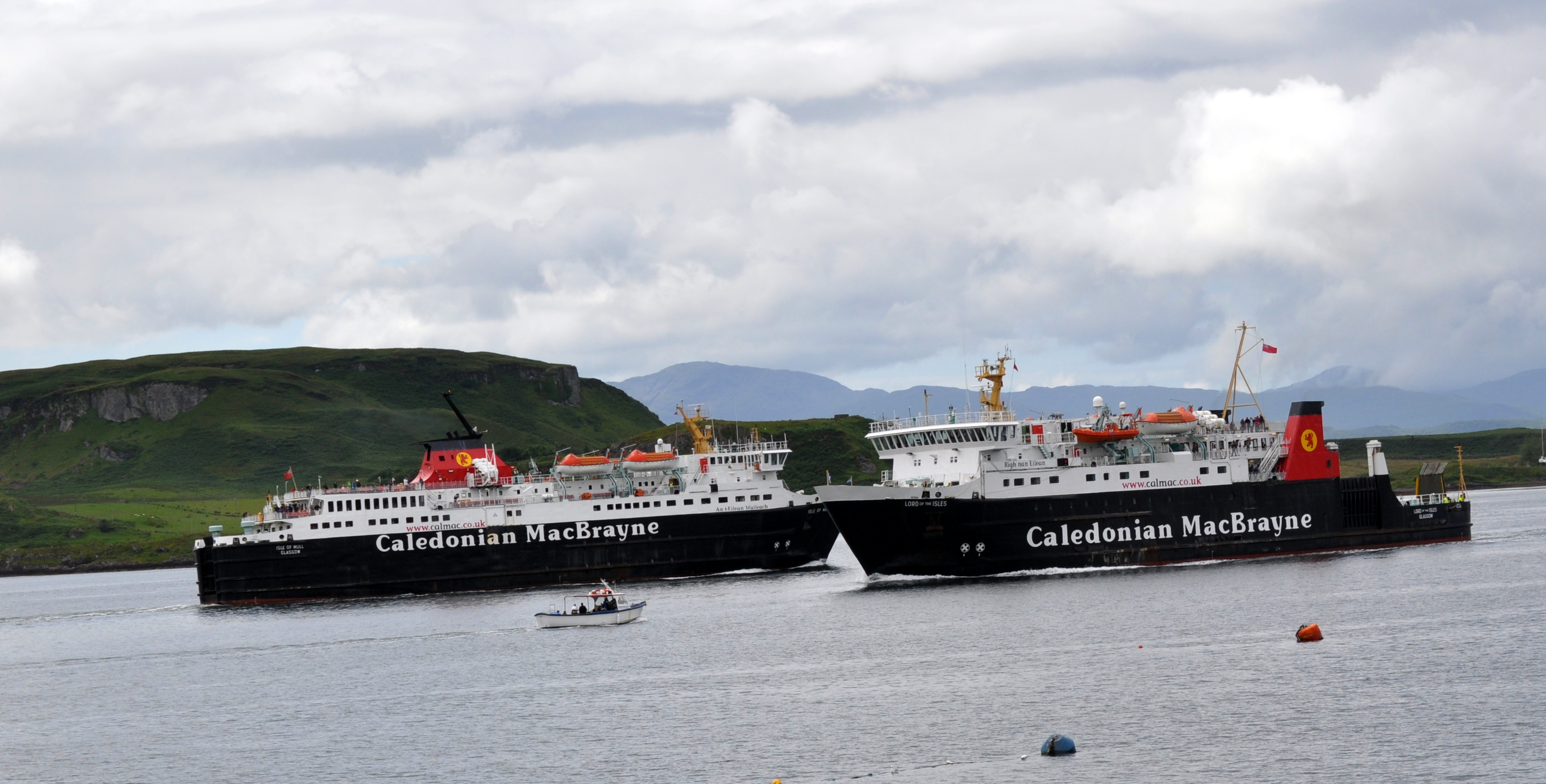 FERRY STORY: Minister denies ferry procurement was 'catastrophic failure'