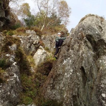 ben-Aan-an easy solo climb for Nick Kempe