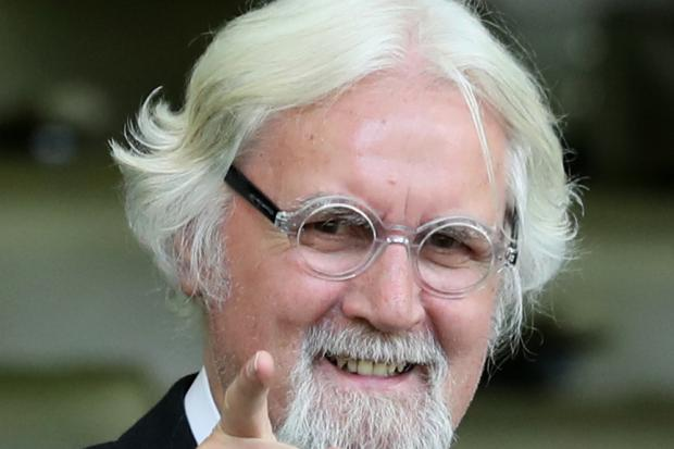 TOO BIG: Billy Connolly statue campaigners told it's too big for pavement