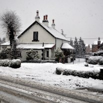snow - Miller's Farm in Round Riding Road, Dumbarton.