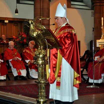 Toal Joseph Bishop at Red Mass