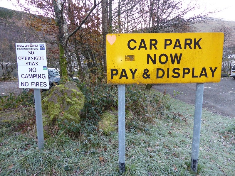 INVESTIGATION: Parking fines and charges in Luss and Arrochar – the wrong way to manage visitors to the Bonnie Banks
