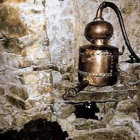 Goose - modern reconstruction of 18th century whisky still